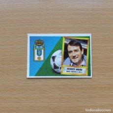 Cromos de Fútbol: ENTRENADOR VICENTE MIERA REAL OVIEDO EDICIONES ESTE 1988 1989 LIGA 88 89 SIN PEGAR NUNCA PEGADO. Lote 194335906