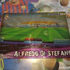 Cromos de Fútbol: 839 ALFREDO DI STÉFANO. ESTADIO BRILLO LISO. REAL MADRID CASTILLA. MUNDICROMO 2014 PLATINUM. Lote 194335934