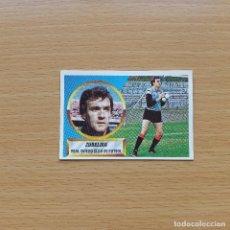 Cromos de Fútbol: 1 ZUBELDIA REAL OVIEDO EDICIONES ESTE 1988 1989 LIGA 88 89 SIN PEGAR NUNCA PEGADO. Lote 194336258