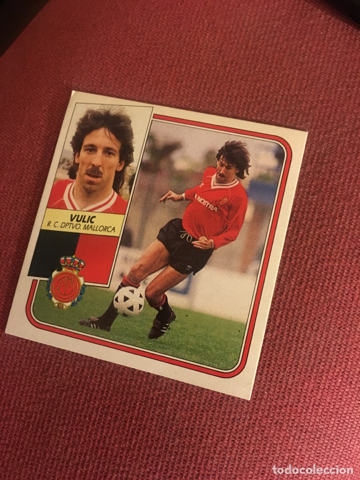 ESTE 89 90 1989 1990 MALLORCA DESPEGADO VULIC (Coleccionismo Deportivo - Álbumes y Cromos de Deportes - Cromos de Fútbol)
