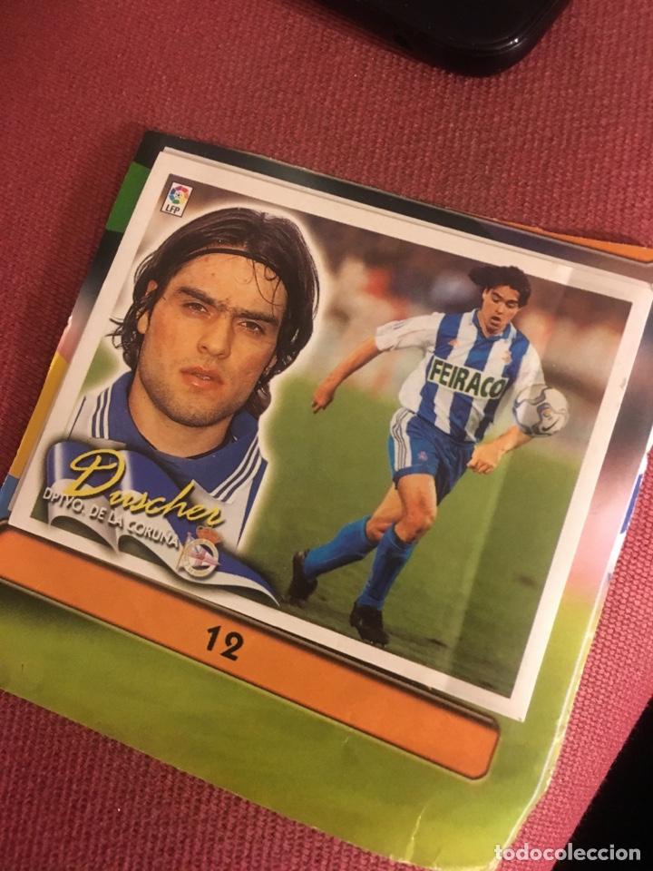 ESTE 00 01 2000 2001 DEPORTIVO CORUÑA DUSCHER FICHAJE 12 (Coleccionismo Deportivo - Álbumes y Cromos de Deportes - Cromos de Fútbol)