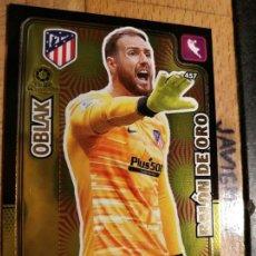 Cromos de Fútbol: ADRENALYN 2019 2020 BALON DE ORO Nº 457 OBLAK ATLETICO DE MADRID. Lote 194358885