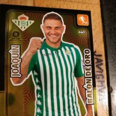 Cromos de Fútbol: ADRENALYN 2019 2020 BALON DE ORO Nº 460 JOAQUIN BETIS. Lote 194358892