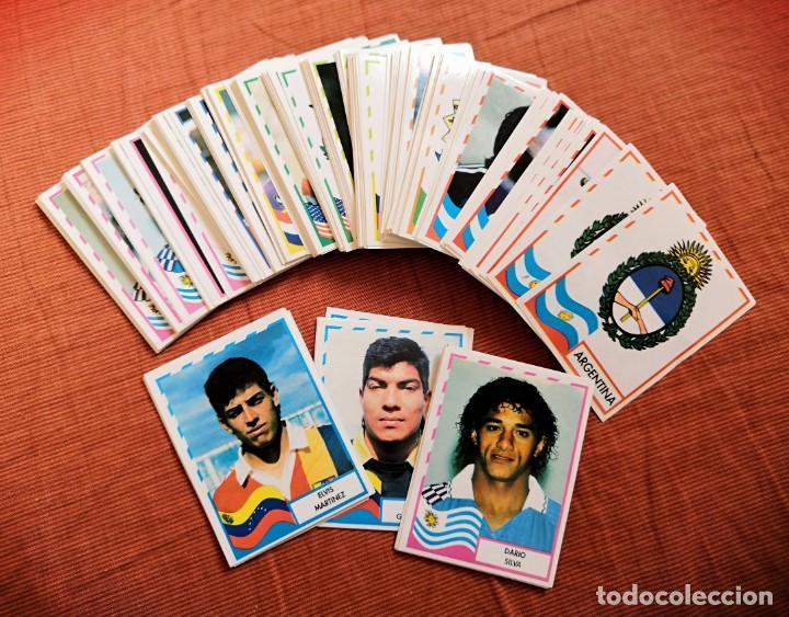 LOTE DE 205 CROMOS DE LA COPA AMERICA DE 1995 DE MUNDICROMO (Coleccionismo Deportivo - Álbumes y Cromos de Deportes - Cromos de Fútbol)
