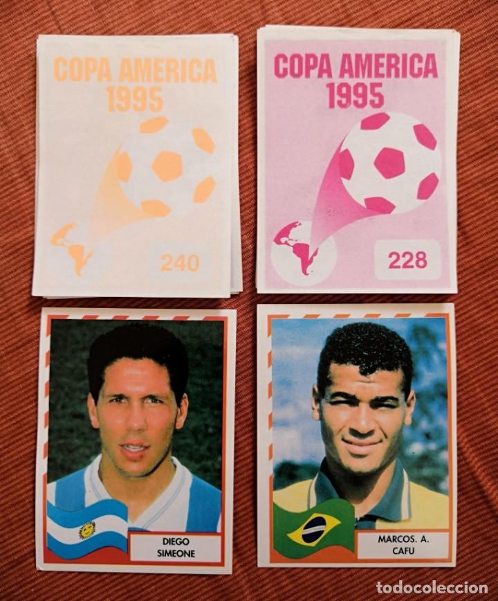 Cromos de Fútbol: LOTE DE 205 CROMOS DE LA COPA AMERICA DE 1995 DE MUNDICROMO - Foto 2 - 194377883