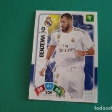 Cromos de Fútbol: 231 BENZEMA - REAL MADRID - ADRENALYN XL 2019-20 - 19/20 (NUEVO). Lote 194388693