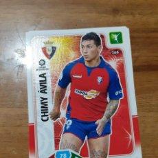 Cromos de Fútbol: TRADING CARD ADRENALYN 2019/2020, EDITORIAL PANINI,JUGADOR CHIMY ÁVILA (OSASUNA),SIN ACTIVAR, Nº 268. Lote 194402060