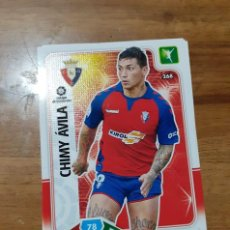 Cromos de Fútbol: TRADING CARD ADRENALYN 2019/2020, EDITORIAL PANINI,JUGADOR CHIMY ÁVILA (OSASUNA),SIN ACTIVAR, Nº 268. Lote 194402065