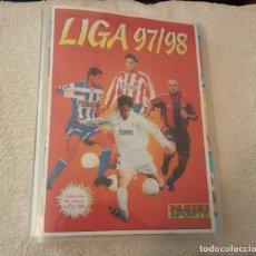 Cromos de Fútbol: -COLECCION DE FUTBOL PANINI LIGA 97-98 EN ARCHIVADOR NUEVO . Lote 194402088