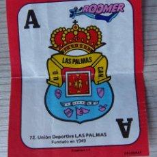 Cromos de Fútbol: CROMO BOOMER ASES DE LA LIGA - Nº 72 - ESCUDO LAS PALMAS. Lote 194404448