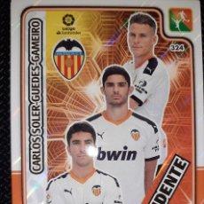Cromos de Fútbol: TRADING CARD ADRENALYN 2019/2020, EDITORIAL PANINI, EQUIPO VALENCIA (TRIDENTE), SIN ACTIVAR. Lote 194533351
