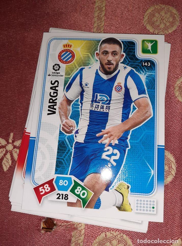TRADING CARD ADRENALYN 2019/2020, EDITORIAL PANINI, JUGADOR VARGAS (ESPANYOL), SIN ACTIVAR (Coleccionismo Deportivo - Álbumes y Cromos de Deportes - Cromos de Fútbol)