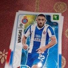 Cromos de Fútbol: TRADING CARD ADRENALYN 2019/2020, EDITORIAL PANINI, JUGADOR VARGAS (ESPANYOL), SIN ACTIVAR. Lote 194537786