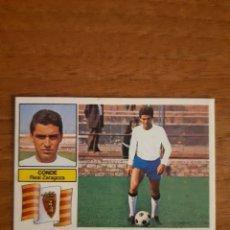 Cromos de Fútbol: FICHAJE 5 CONDE (ZARAGOZA) VERSIÓN DIFÍCIL LIGA 82-83 ESTE. RECUPERADO. Lote 194537830