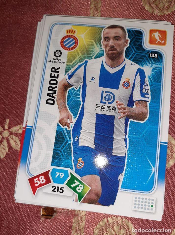 TRADING CARD ADRENALYN 2019/2020, EDITORIAL PANINI, JUGADOR DARDER (ESPANYOL), SIN ACTIVAR (Coleccionismo Deportivo - Álbumes y Cromos de Deportes - Cromos de Fútbol)