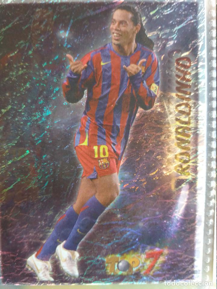 662 RONALDINHO TOP 7 (TOP ONCE) - MUNDICROMO 2007 (Coleccionismo Deportivo - Álbumes y Cromos de Deportes - Cromos de Fútbol)