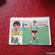 Cromos de Fútbol: HERRERO RACING SANTANADER ED ESTE 82 83 CROMO FUTBOL LIGA 1982 1983 - SIN PEGAR - 786 COLOCA. Lote 194556087