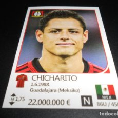 Cromos de Fútbol: 157 CHICHARITO BAYER LEVERKUSEN STICKERS UEFA CHAMPIONS LEAGUE TOP24 RAFO 16 17 2016 2017. Lote 194590052