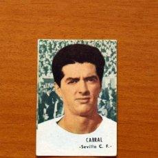Cromos de Fútbol: SEVILLA - CABRAL - EDITORIAL FHER 1966-1967, 66-67 - NUNCA PEGADO. Lote 194596103