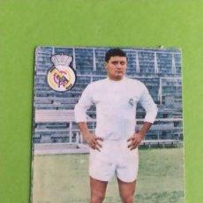 Cromos de Fútbol: REAL MADRID ZUNZUNEGUI FHER 1967 1968 67 68 RECUPERADO. Lote 194625076