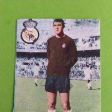 Cromos de Fútbol: REAL MADRID JUNQUERA FHER 1967 1968 67 68 RECUPERADO. Lote 194625176