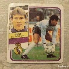 Cromos de Fútbol: BUYO REAL MADRID LIGA 89 90 CROMO NUNCA PEGADO . Lote 194647921
