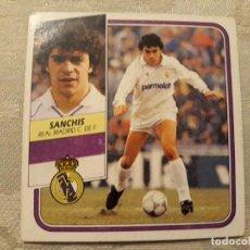Cromos de Fútbol: SANCHIS REAL MADRID LIGA 89 90 CROMO NUNCA PEGADO . Lote 194647956