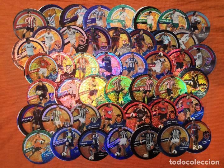 LOTE 45 CROMOS DANET CIRCLECARDS CIRCLE CARDS MUNDICROMO 2006 2007 (Coleccionismo Deportivo - Álbumes y Cromos de Deportes - Cromos de Fútbol)
