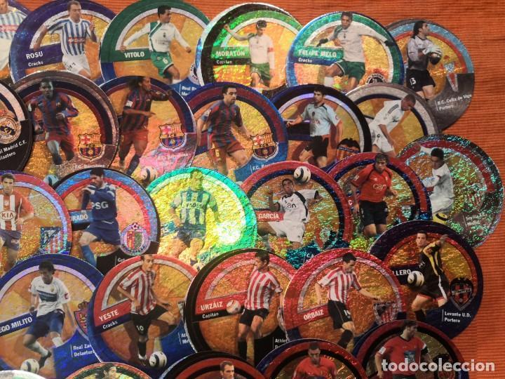 Cromos de Fútbol: LOTE 45 CROMOS DANET CIRCLECARDS CIRCLE CARDS MUNDICROMO 2006 2007 - Foto 2 - 194650297