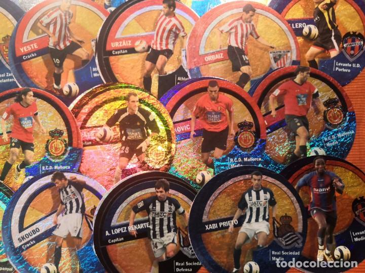 Cromos de Fútbol: LOTE 45 CROMOS DANET CIRCLECARDS CIRCLE CARDS MUNDICROMO 2006 2007 - Foto 3 - 194650297