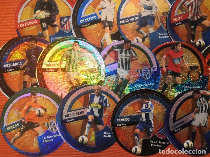 Cromos de Fútbol: LOTE 45 CROMOS DANET CIRCLECARDS CIRCLE CARDS MUNDICROMO 2006 2007 - Foto 4 - 194650297