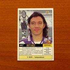 Cromos de Fútbol: R.C.D. ESPANYOL, ESPAÑOL - Nº 467, ROTCHEN - UH - LAS FICHAS DE LA LIGA MUNDICROMO 1999-2000, 99-00. Lote 194651106