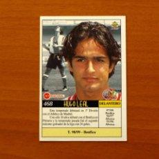 Cromos de Fútbol: ATLETICO MADRID - Nº 468, HUGO LEAL - ÚLTIMA HORA -LAS FICHAS DE LA LIGA MUNDICROMO 1999-2000, 99-00. Lote 194651192