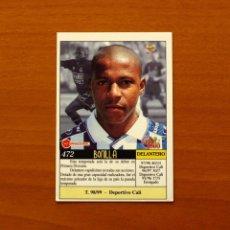 Cromos de Fútbol: REAL SOCIEDAD - Nº 472, BONILLA - ÚLTIMA HORA - LAS FICHAS DE LA LIGA MUNDICROMO 1999-2000, 99-00. Lote 194651528