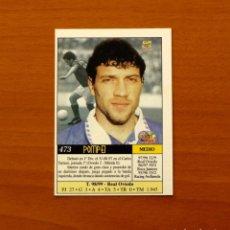 Cromos de Fútbol: REAL OVIEDO - Nº 473, POMPEI - CORREGIDO - UH - LAS FICHAS DE LA LIGA MUNDICROMO 1999-2000, 99-00. Lote 194651841