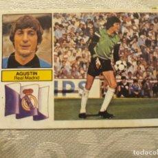 Cromos de Fútbol: AGUSTIN R. MADRID DE EDICIONES ESTE 82-83. Lote 194659055