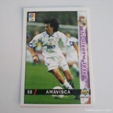 Cromos de Fútbol: LIGA 98-99. MUNDICROMO. Nº 68. AMAVISCA. REAL MADRID. Lote 194659542