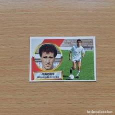 Cromos de Fútbol: 9 # FRANCISCO SEVILLA CF EDICIONES ESTE 1988 1989 LIGA 88 89 SIN PEGAR NUNCA PEGADO. Lote 194659553