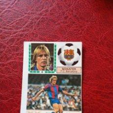 Cromos de Fútbol: SCHSUTER BARCELONA ED ESTE 83 84 CROMO FUTBOL LIGA 1983 1984 - DESPEGADO - 1397. Lote 194666630