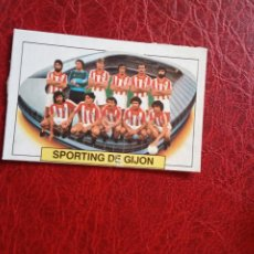 Cromos de Fútbol: ALINEACION SPORTING GIJON ED ESTE 83 84 CROMO FUTBOL LIGA 1983 1984 - DESPEGADO - 1399. Lote 194666797
