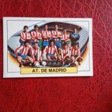 Cromos de Fútbol: ALINEACION AT MADRID ED ESTE 83 84 CROMO FUTBOL LIGA 1983 1984 - DESPEGADO - 1400. Lote 194666830