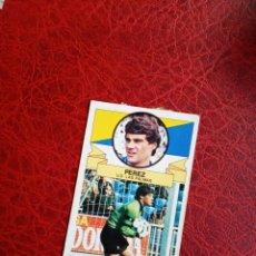 Cromos de Fútbol: PEREZ LAS PALMAS ED ESTE 85 86 FUTBOL LIGA CROMO 1985 1986 - DESPEGADO - 990. Lote 194675605