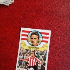 Cromos de Fútbol: DE ANDRES BILBAO ED ESTE 85 86 FUTBOL LIGA CROMO 1985 1986 - DESPEGADO - 994. Lote 194675856