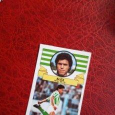 Cromos de Fútbol: ALEX REAL BETIS ED ESTE 85 86 FUTBOL LIGA CROMO 1985 1986 - DESPEGADO - 996. Lote 194675945
