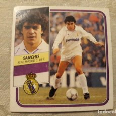 Cromos de Fútbol: SANCHIS REAL MADRID NUNCA PEGADO EDICIONES ESTE 1989 1990 . Lote 194680656