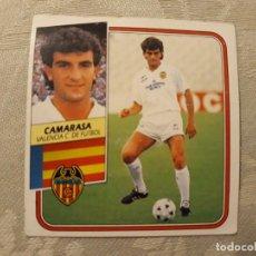 Cromos de Fútbol: CAMARASA VALENCIA NUNCA PEGADO EDICIONES ESTE 1989 1990. Lote 194693496
