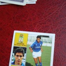 Cromos de Fútbol: LUIS MANUEL OVIEDO ED ESTE 92 93 CROMO FUTBOL LIGA 1992 1993 - SIN PEGAR - 652. Lote 194704721
