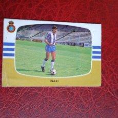 Cromos de Fútbol: IÑAKI ESPAÑOL ED CANO 84 85 CROMO FUTBOL LIGA 1984 1985 - DESPEGADO - 326 FICHAJE 4 A. Lote 194741618