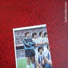 Cromos de Fútbol: ALINEACION REAL SOCIEDAD ED CANO 85 86 CROMO FUTBOL LIGA 1985 1986 - DESPEGADO - 272. Lote 194741867