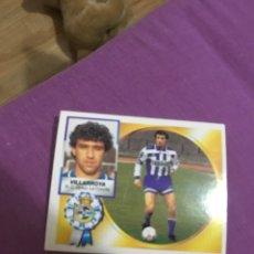 Cromos de Fútbol: ESTE 94 95 1994 1995 DEPORTIVO CORUÑA VILLARROYA FICHAJE 21 SIN PEGAR. Lote 194742788